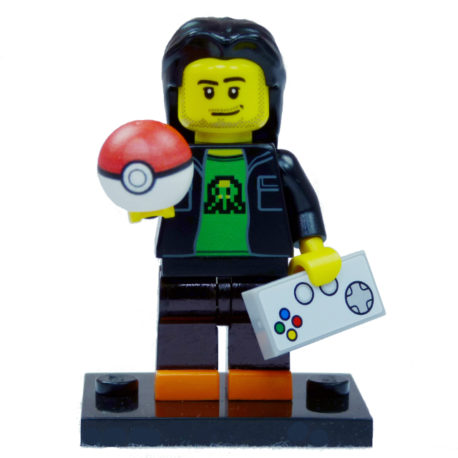 Brick Yourself Custom Lego Figure Pokemon Gamer 2