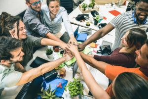 Increased cooperation and understanding between co-workers